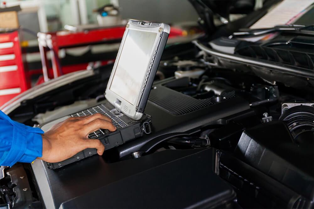 Сканирование ошибок электроники авто